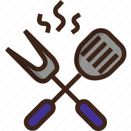 barbeque, grilling, grilling tools, tools, utensils icon