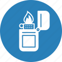 fire, heat, light, lighter, outdoor, tracking, wildlife icon