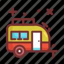 camp, camper, camping, travel