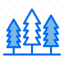 nature, forest, trees, camping