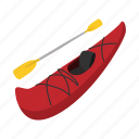 rowing, rubber, oar, river, cartoon, boat, adventure icon
