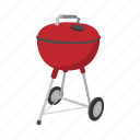 barbecue, bbq, cartoon, cooking, grill, grilling, smoke icon