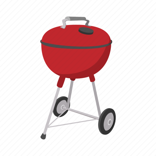 barbecue bbq cartoon cooking grill grilling smoke icon