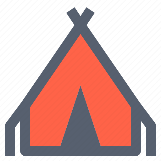 camp, camping, outdoor, tent, tents, tringular icon