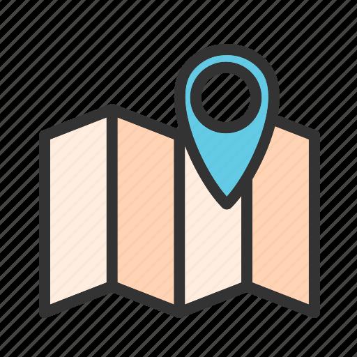 Address, find, gprs, locator, map, navigator, pointer icon - Download on Iconfinder