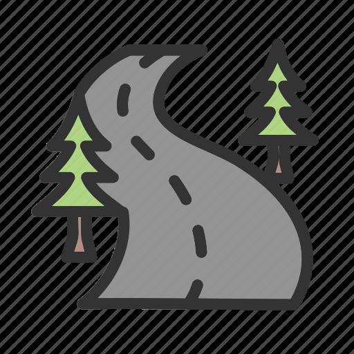 Drive, highway, landscape, road, speed, summer, travel icon - Download on Iconfinder