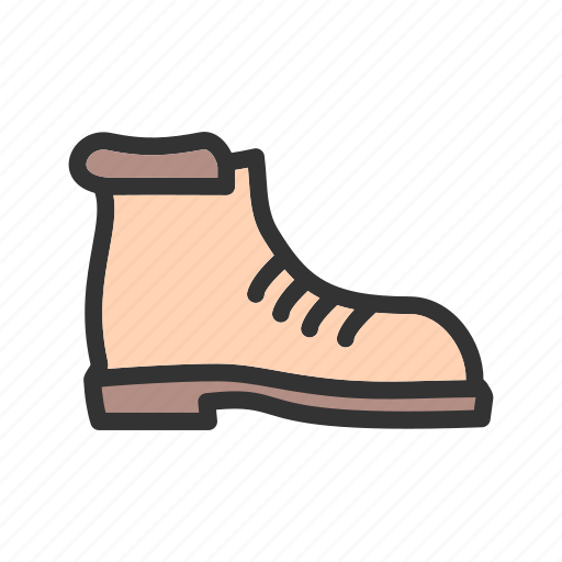 Boot, boots, camp, camping, hiking, leather, walking icon - Download on Iconfinder