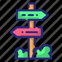 arrow, direction, navigation, pointer icon