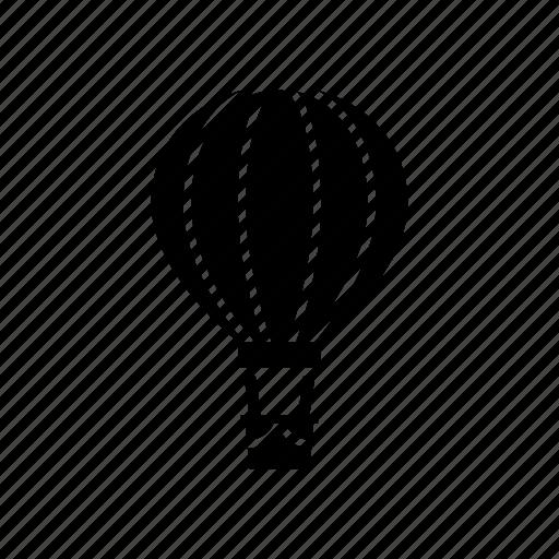 aerostat, air, air balloon, balloon, flight, flying, travel icon