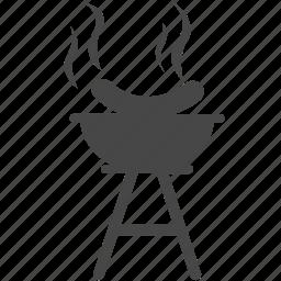 barbecue, bbq, cook, food, grill, hotdog, sausage icon