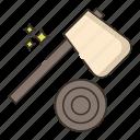 axe, hatchet, tool, wood