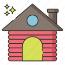 cabin, home, house, outdoor icon