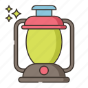 bulb, camping, lamp, light icon