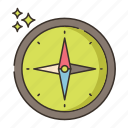 compass, direction, location, navigation