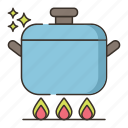 cooking, food, kitchen, stove icon