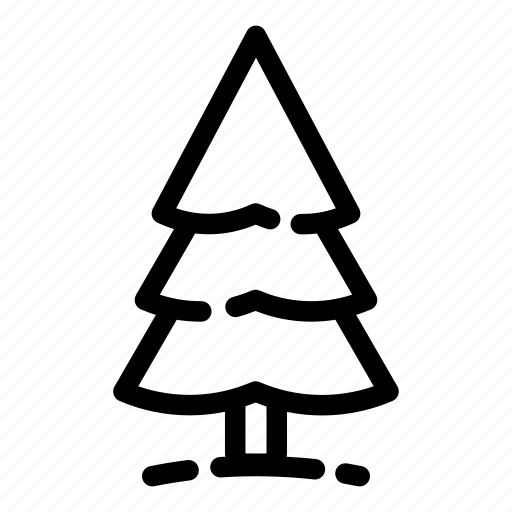 camping, fir, hiking, spruce, tourism, travel, tree icon