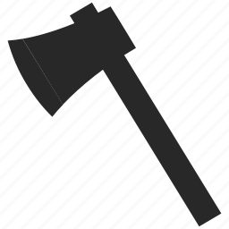 axe, cut, hatchet, tool icon