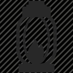 flame, lamp, lantern, light icon