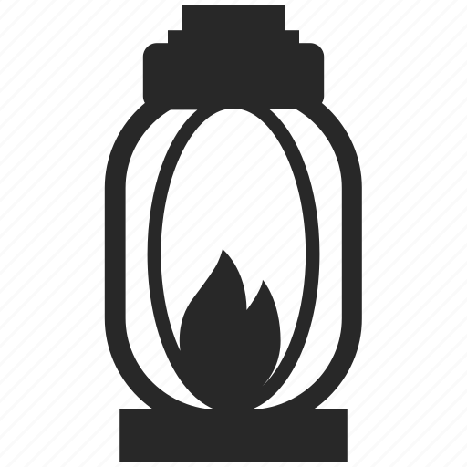 Flame, lamp, lantern, light icon - Download on Iconfinder