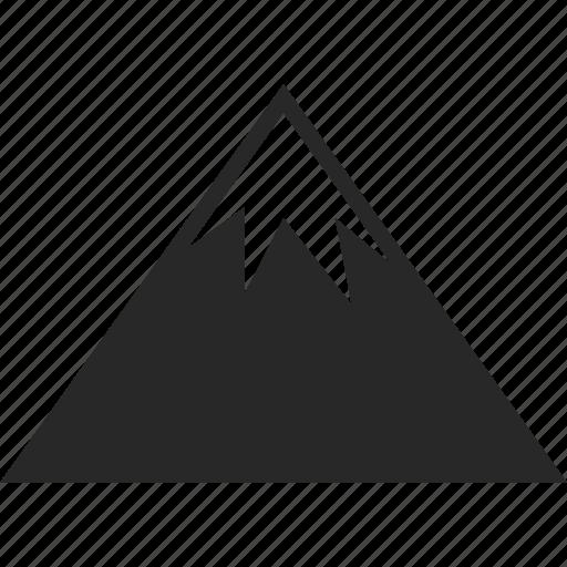 hike, landscape, mountain, nature icon