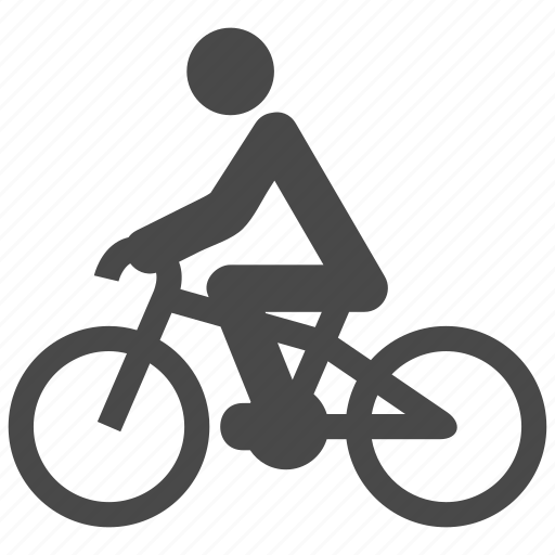 bicycle, bike, biker, cycle, cycling, transport, travel icon