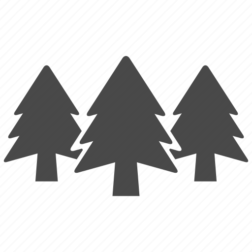 christmas, forest, nature, pine, plant, tree, trees icon