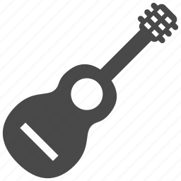 guitar, instrument, media, music, play, sound, string icon