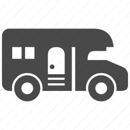 camp, camping, house, living, transport, truck, vehicle icon