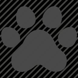 animal, cat, dog, nature, paw, pet, wild icon