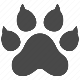 animal, cat, dog, nature, paw, pet, wild icon