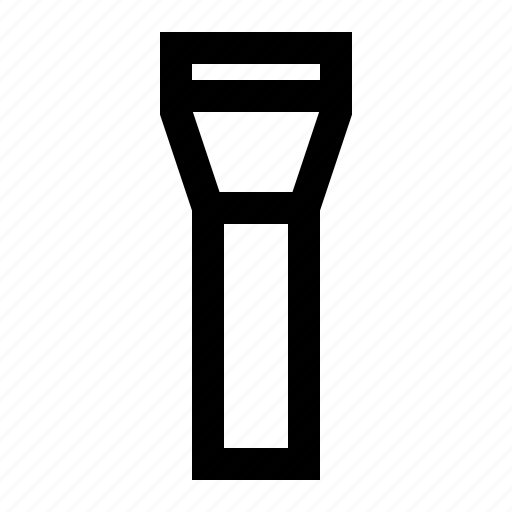bright, camping, flashlight, lamp, light, night, outdoor, torch icon