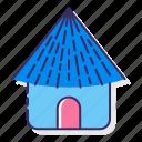 cabin, hut, shack