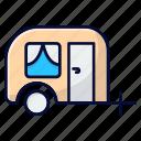 camping, caravan, rv, trailer