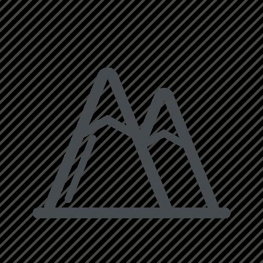 adventure, mountain, nature, outdoor icon
