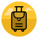 bag, baggage, case, goods, luggage, transportation, travel icon