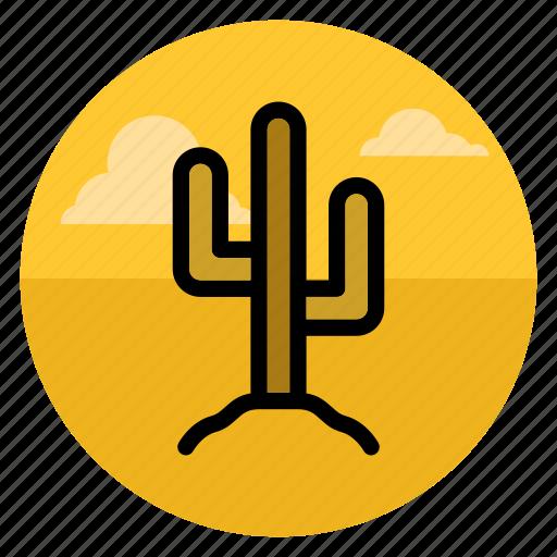 cactus, desert, sands, travel, west, wild, wild west icon