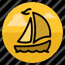 boat, sail, ship, travel, yacht, cruise, shipping