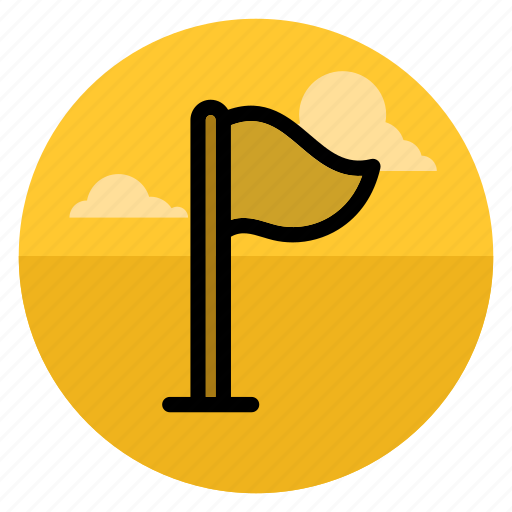 camp, checkpoint, flag, flags, mark, place, point icon
