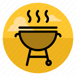 barbecue, bbq, cooking, grill, kebab, outdoor, picnic icon