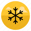 christmas, forecast, snow, snowflake, weather, winter, xmas icon