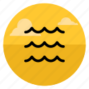 beach, ocean, sea, vacation, water, wave, waves icon