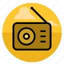 audio, music, player, radio, sound, speaker, volume icon