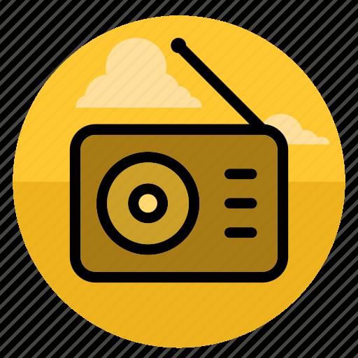 audio, music, player, radio, sound, speaker, volume icon