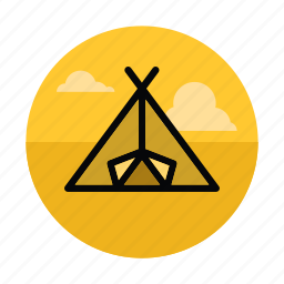 adventure, camp, camping, outdoors, tent, tourism, vacation icon