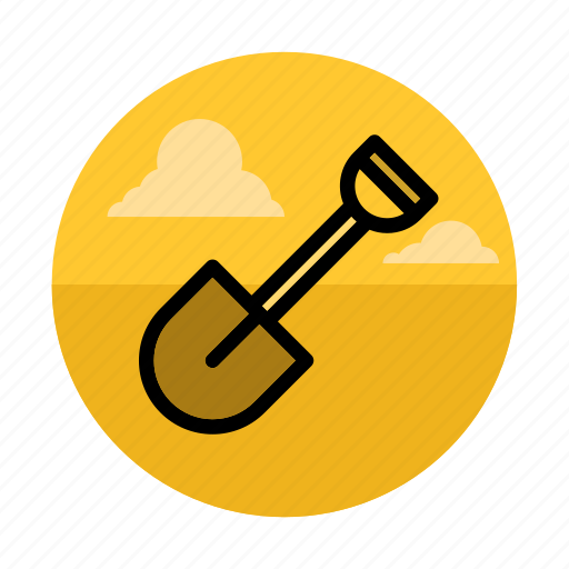 camping, digging, garden, gardening, nature, outdoors, shovel icon