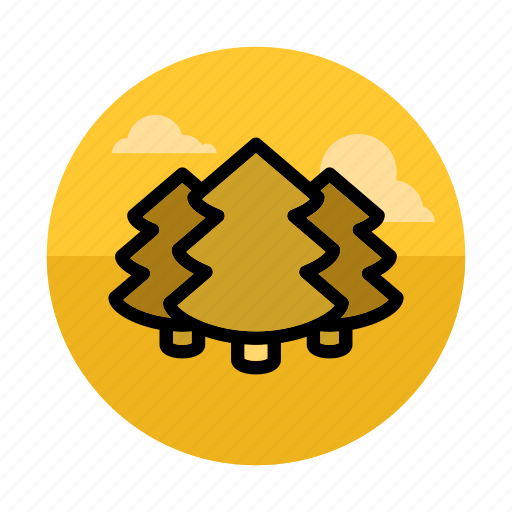 fir, forest, nature, outdoors, park, spruce, tree icon
