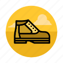 boot, camping, foot, footwear, hiking, outdoor, shoe icon