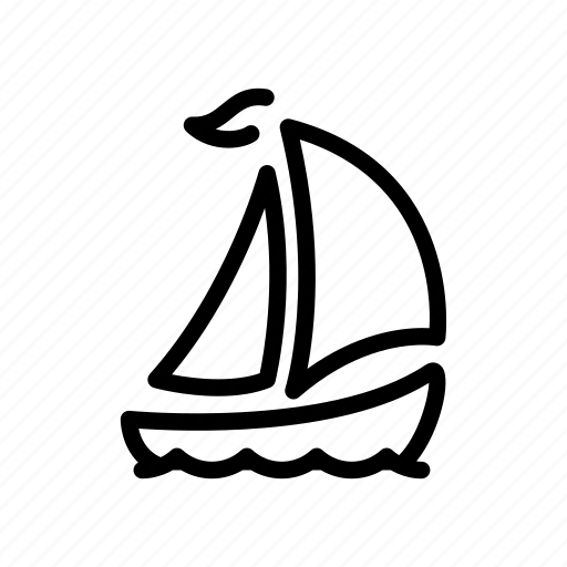 Boat, sail, ship, travel, yacht, cruise, shipping icon - Download on Iconfinder