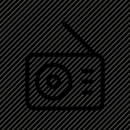 music, player, radio, receiver, sound, speaker, volume icon