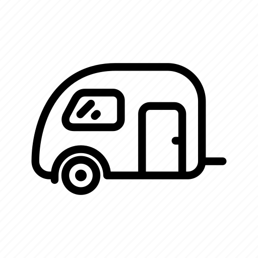 automobile, car, home, house, trailer, transport, truck icon
